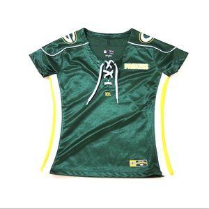 GreenBay Packer Vneck fan Shirt